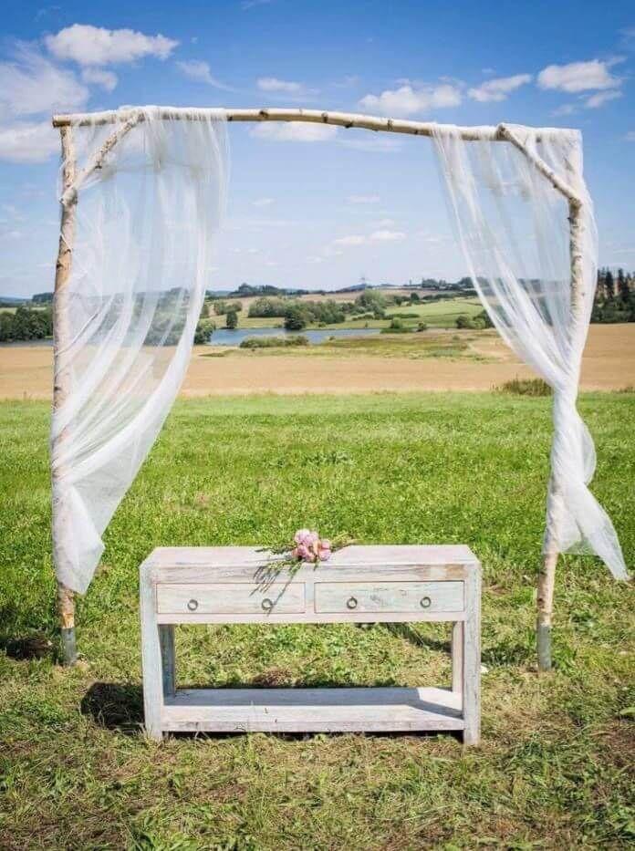 Isometall - zemné vruty - svadobné dekorácie